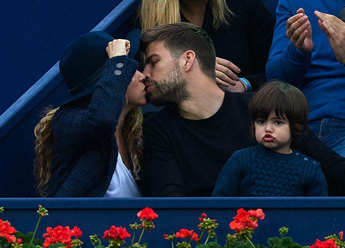 Лучшие фотографии Жерара Пике и Шакиры с сыном