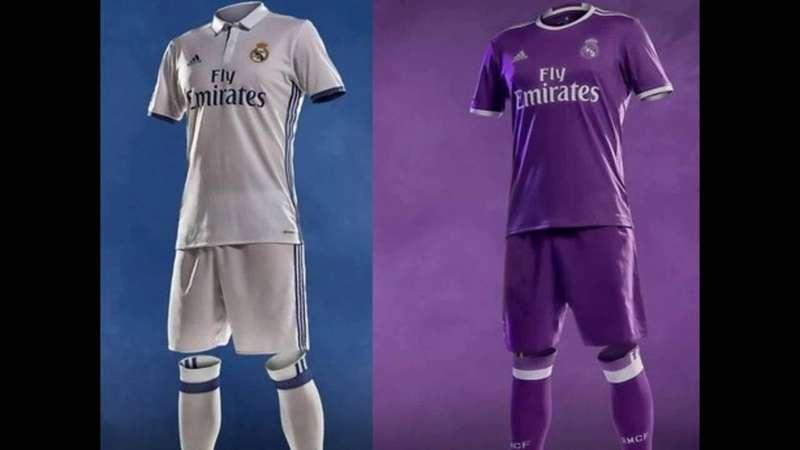 Новая форма Реал Мадрид 2016-2017