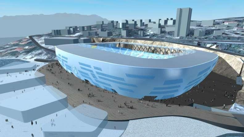Самые необычные и оригинальные футбольные стадионы в мире