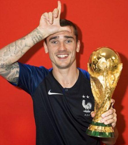 Антуан Гризманн – чемпион мира в составе сборной Франции