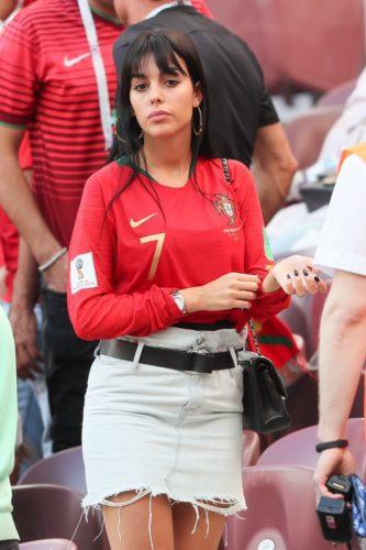 Джорджина Родригес - девушка Криштиану Роналду, фото.