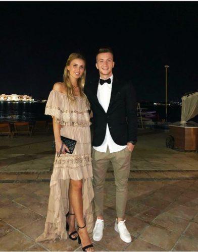 Марко ройс и его девушка