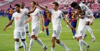 Барселона Бавария 2:8